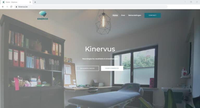 Kinervus Website laten maken