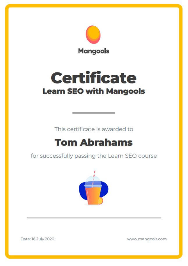 Mangools learn SEO