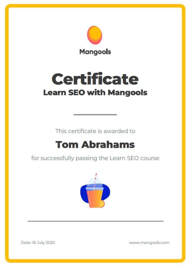 Mangools learn SEO