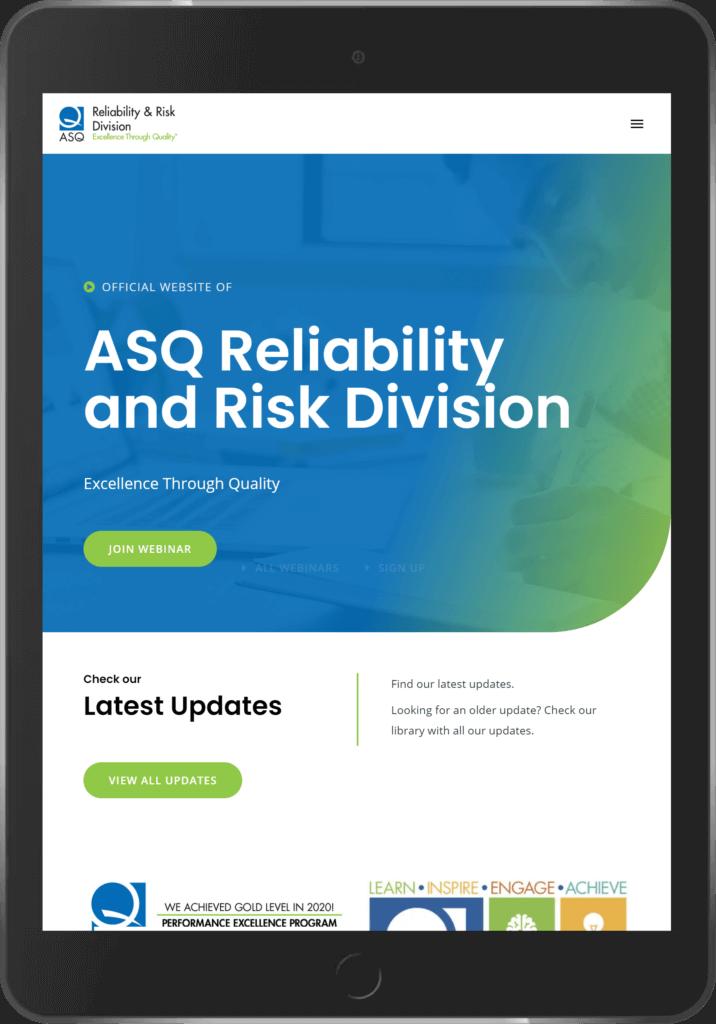 Digito-IT webdesign Limburg ASQRRD ASQ Reliability and Risk Division