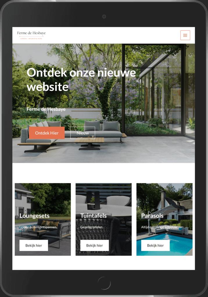 Digito-IT webdesign Limburg Ferme de Hesbaye