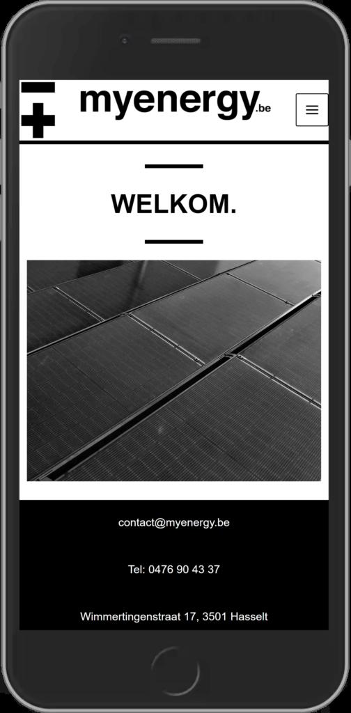 Digito-IT webdesign Limburg MyEnergy